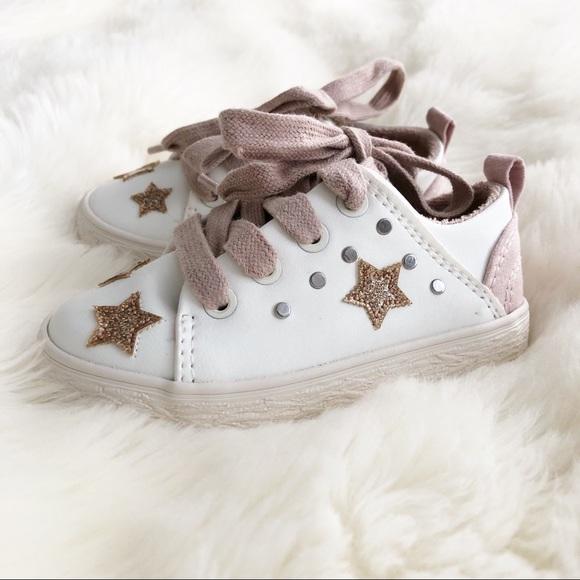 Zara Shoes   Zara Star Sneakers   Poshmark